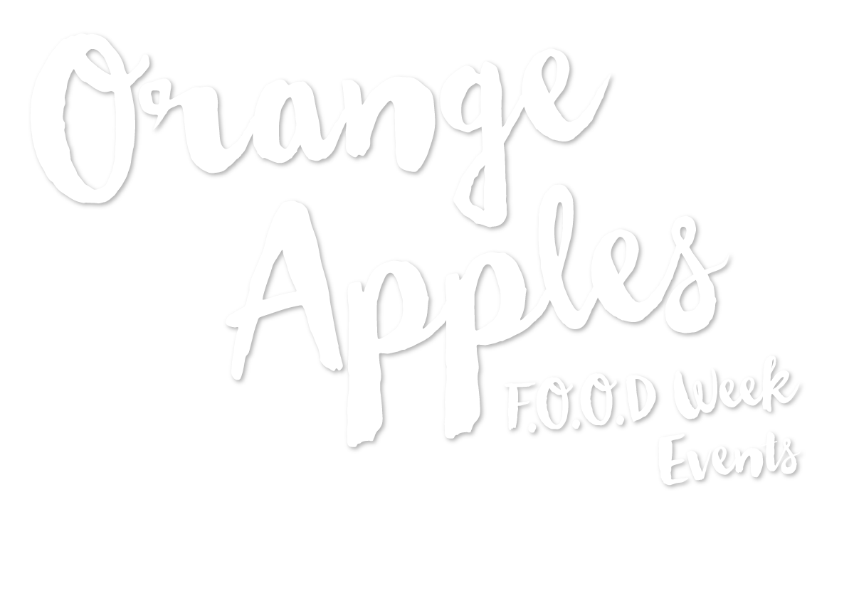 Orange Apples FOOD Week Events